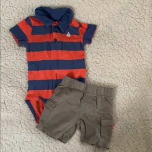 Carters Polo style shorts outfit